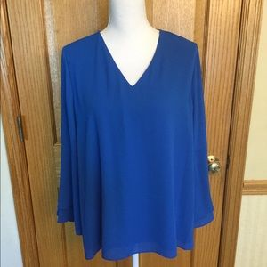 Alfani royal blue tunic